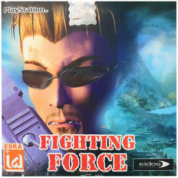 بازی Fighting Force مخصوص PS1
