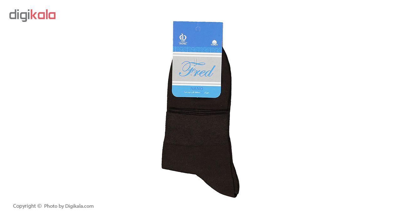 جوراب مردانه فرد مدل G.021 بسته 6 عددی main 1 6