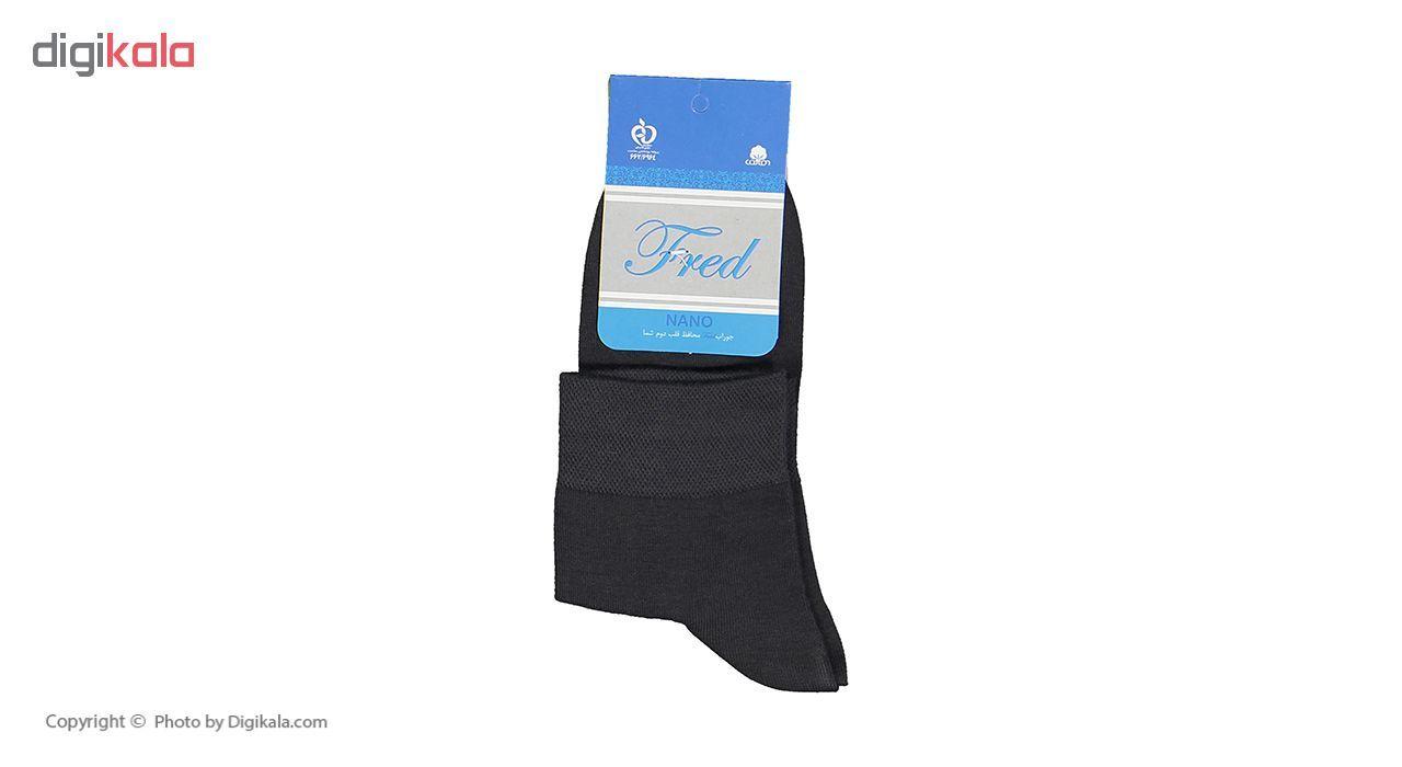 جوراب مردانه فرد مدل G.021 بسته 6 عددی main 1 8