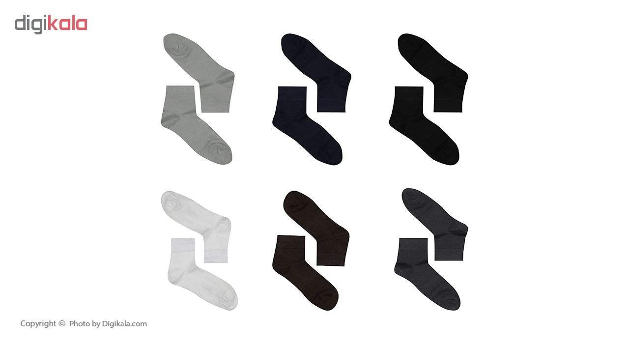 جوراب مردانه فرد مدل G.021 بسته 6 عددی main 1 1