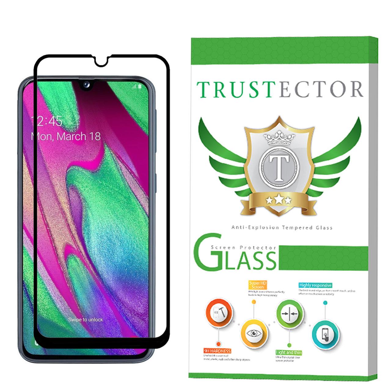 محافظ صفحه نمایش تراستکتور مدل GSS مناسب برای گوشی موبایل سامسونگ Galaxy A40