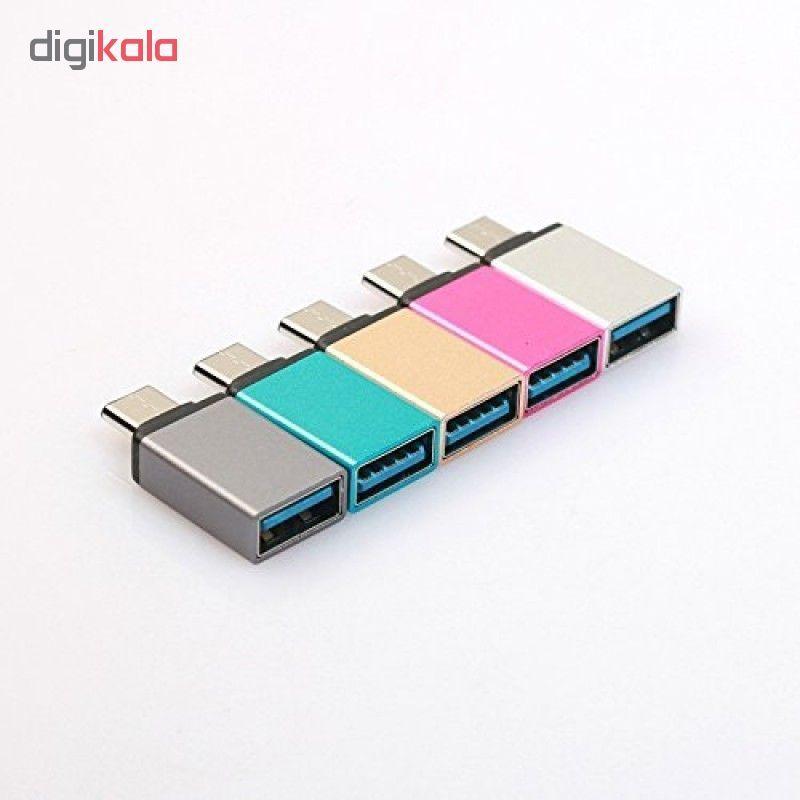 مبدل OTG USB-C مدل D-101 main 1 1