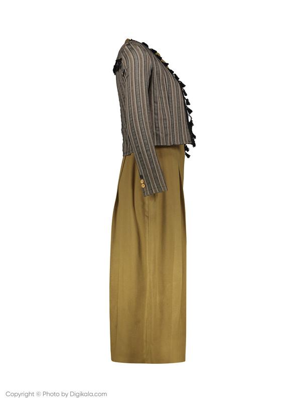 ست سارافون و کت زنانه عاطفه نادری مدل 1061134-3506