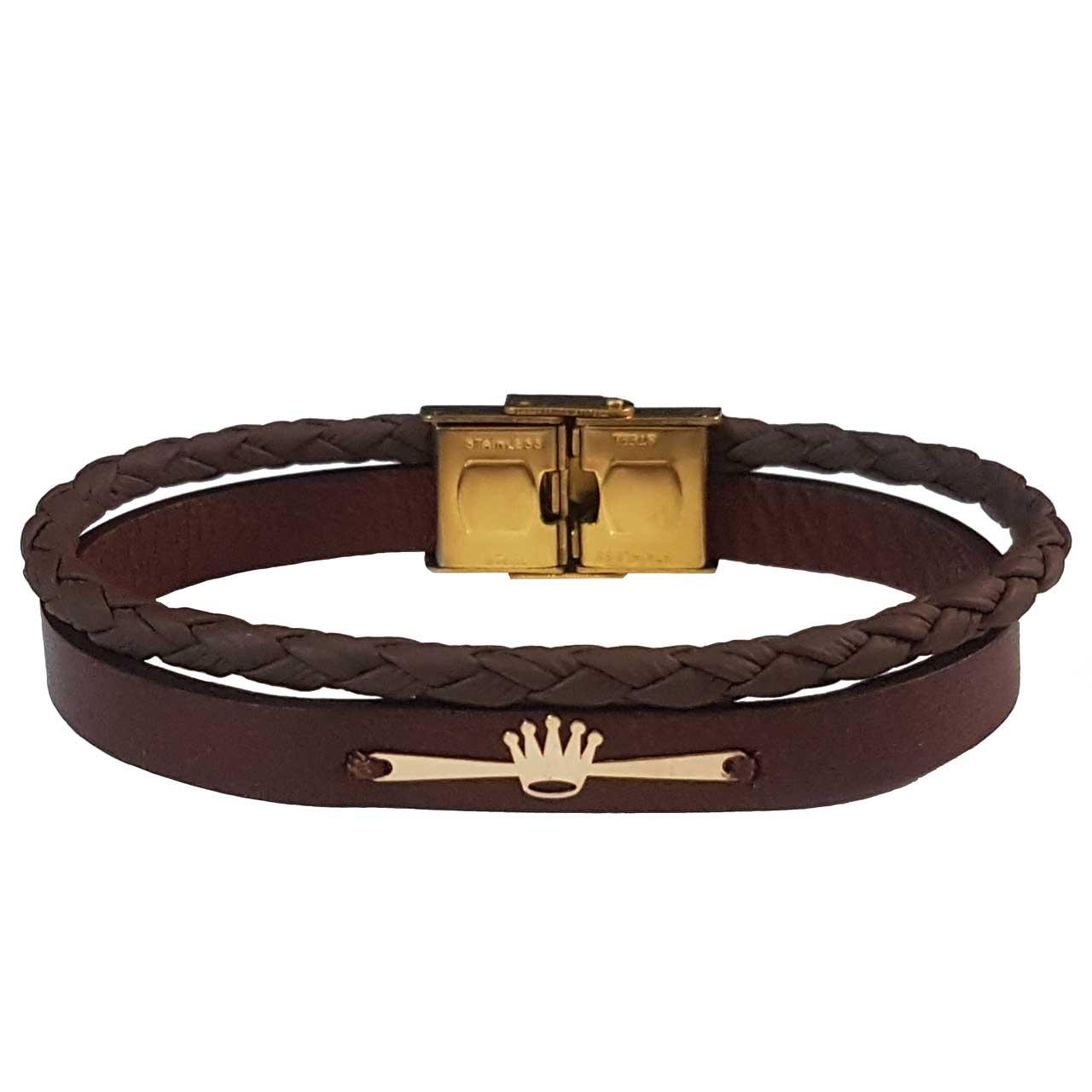 دستبند طلا 18 عیار زنانه کد DCT10