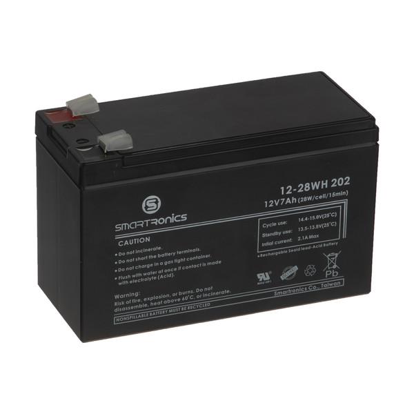 باتری یو پی اس 12 ولت 7 آمپر ساعت اسمارترونیکس کد 202