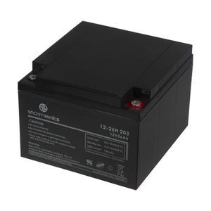 باتری یو پی اس 12 ولت 26 آمپر ساعت اسمارترونیکس کد 203