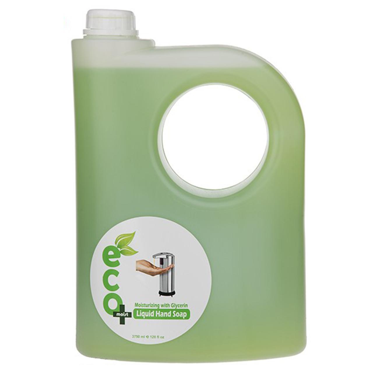 مایع دستشویی گلیسیرینه ایکو مویست مدل Green حجم 3750 میلی لیتر