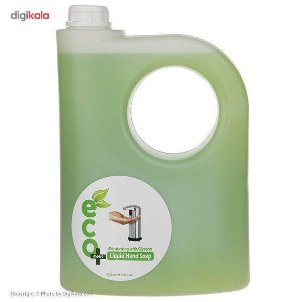 مایع دستشویی گلیسیرینه ایکو مویست مدل Green حجم 3750 میلی لیتر main 1 1