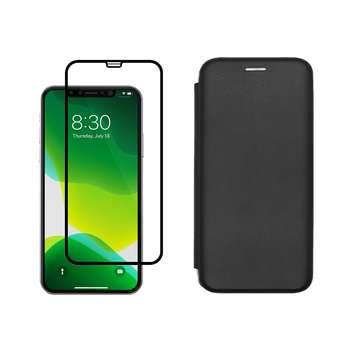 کیف کلاسوری مسیر مدل MMGNT-MGF-1 مناسب برای گوشی موبایل اپل iPhone 11 Pro به همراه محافظ صفحه نمایش
