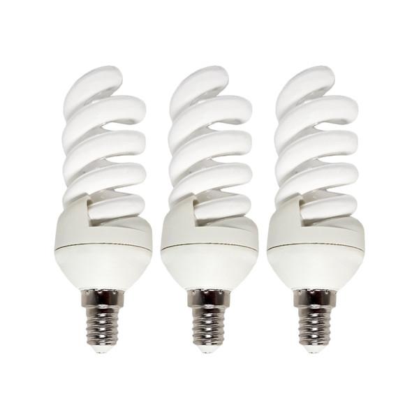 لامپ کم مصرف 9 وات خزرشید پایه E14 بسته 3 عددی