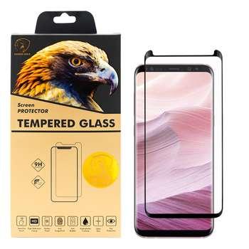 محافظ صفحه نمایش گلدن ایگل مدل DFC-X1 مناسب برای گوشی موبایل سامسونگ Galaxy S8
