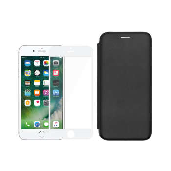 کیف کلاسوری مسیر مدل MMGNT-MGF-1 مناسب برای گوشی موبایل اپل iPhone 8Plus/7Plus به همراه محافظ صفحه نمایش