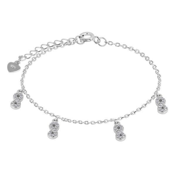 دستبند نقره زنانه اقلیمه کد DN436