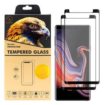 محافظ صفحه نمایش گلدن ایگل مدل DFC-X2 مناسب برای گوشی موبایل سامسونگ Galaxy Note 9 بسته دو عددی