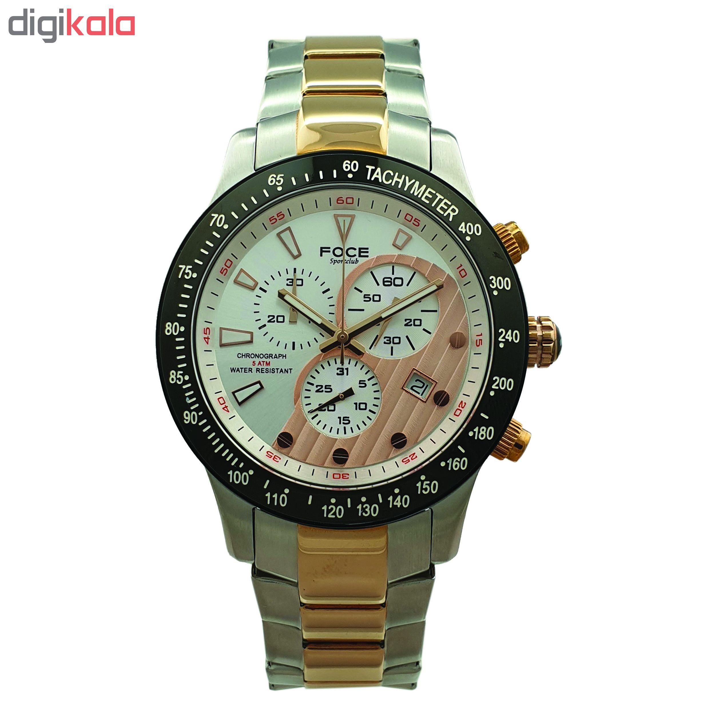ساعت مچی عقربه ای مردانه فوچه کد F809.GRM.101