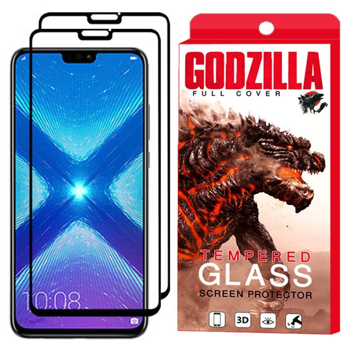 محافظ صفحه نمایش گودزیلا مدل GGF مناسب برای گوشی موبایل آنر 8X بسته 2 عددی
