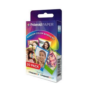 کاغذ چاپ سریع پولاروید مدل Rainbow Border ZINK بسته 20 عددی