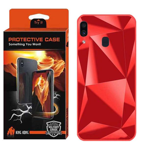 کاور کینگ کونگ طرح الماس مدل Dmnd01 مناسب برای گوشی موبایل سامسونگ Galaxy A10S