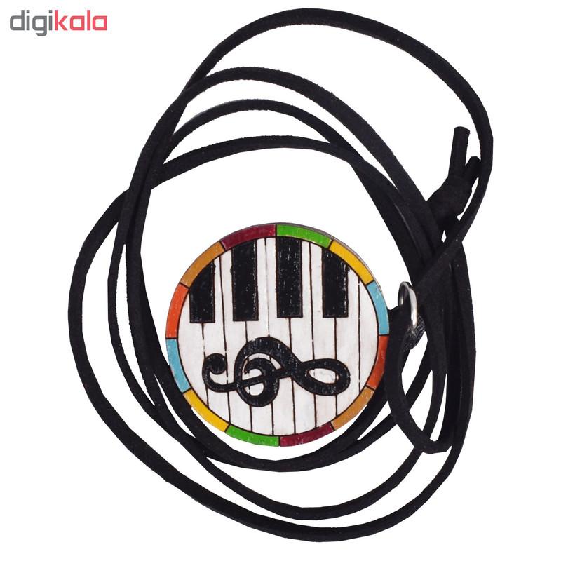 گردنبند طرح موسیقی کد 12