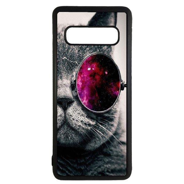 کاور طرح گربه کد 43168 مناسب برای گوشی موبایل سامسونگ galaxy s10 plus