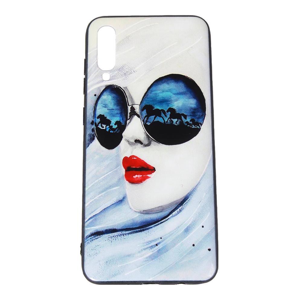 کاور مدل Mone طرح Glass مناسب برای گوشی موبایل سامسونگ Galaxy A70