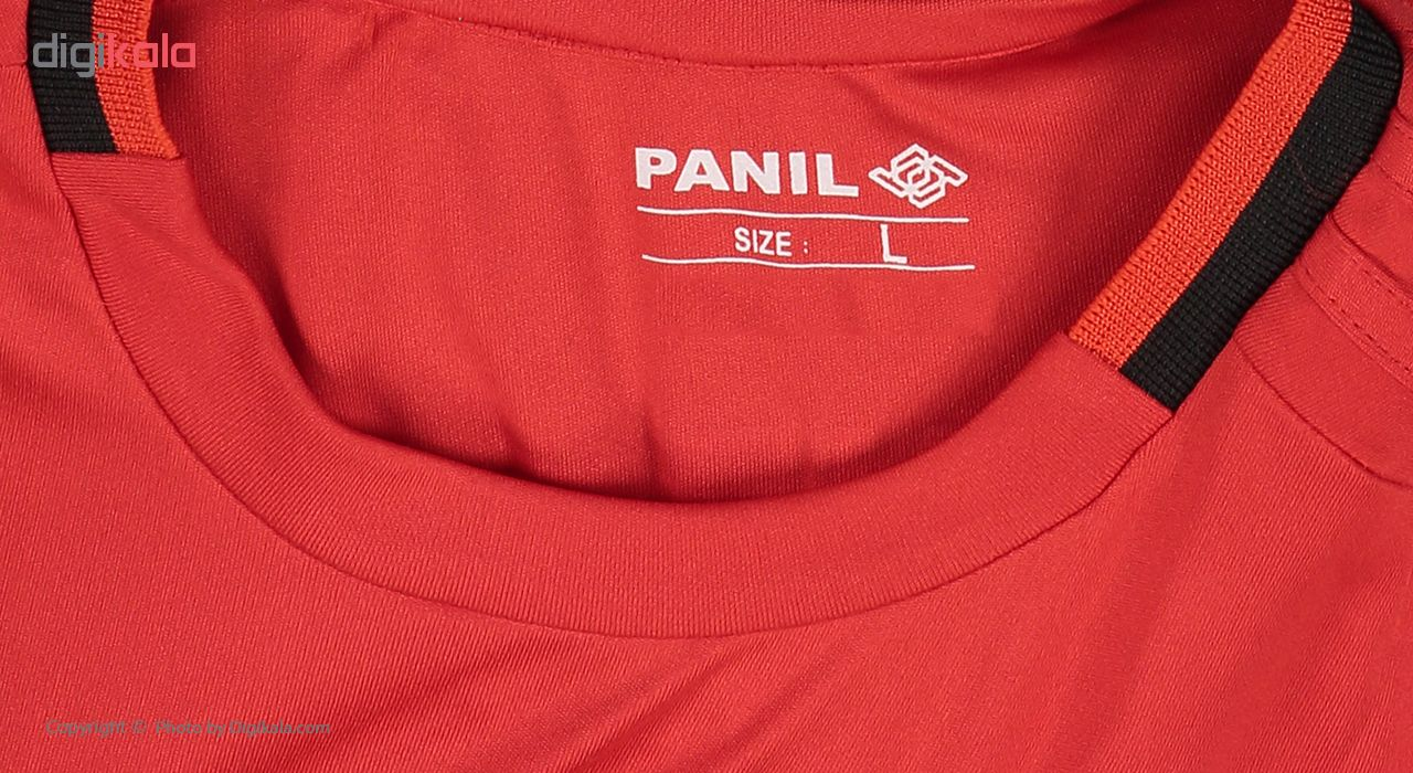 ست پیراهن و شورت ورزشی پسرانه پانیل طرح تیم منچستر یونایتد کد 23005