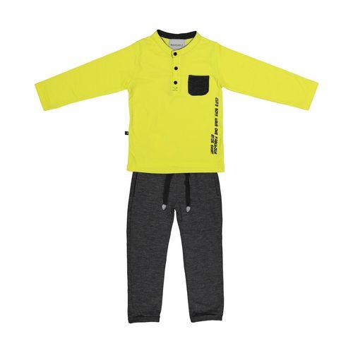 ست تی شرت و شلوار پسرانه نامدارز مدل 2021103-19