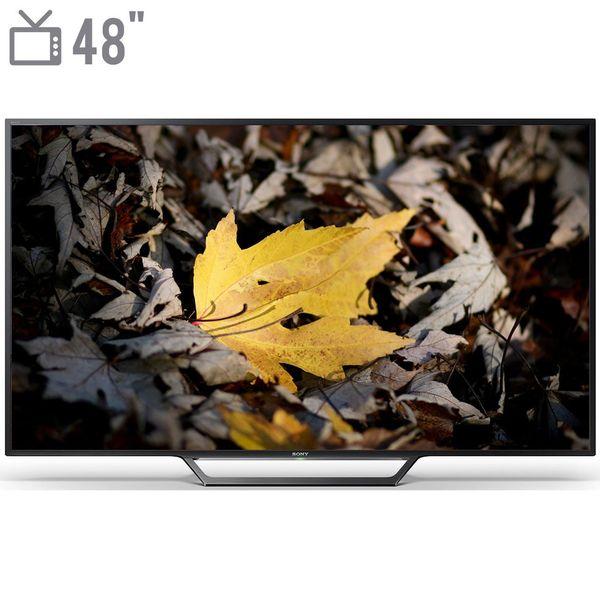 تلویزیون ال ای دی هوشمند سونی سری BRAVIA مدل KDL-48W650D سایز 48 اینچ