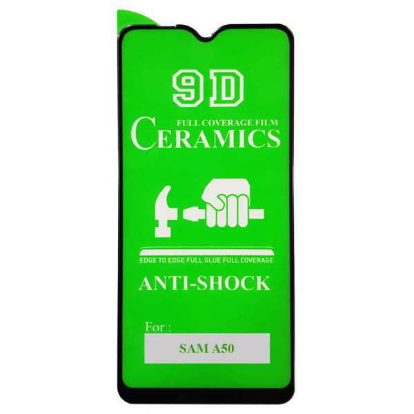 محافظ صفحه نمایش 9D مدل  CR-50 مناسب برای گوشی موبایل سامسونگ Galaxy A50