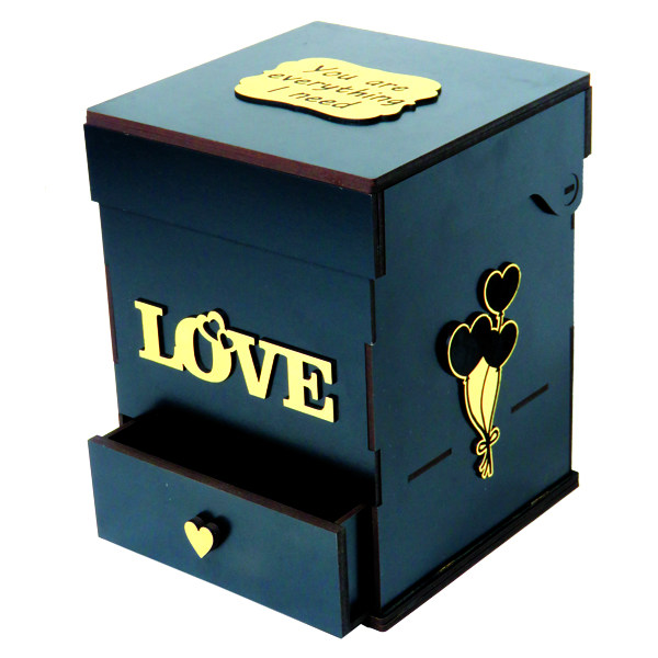 جعبه گل لوکس باکس کد LB200-1