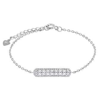 دستبند نقره زنانه اقلیمه کد DN438