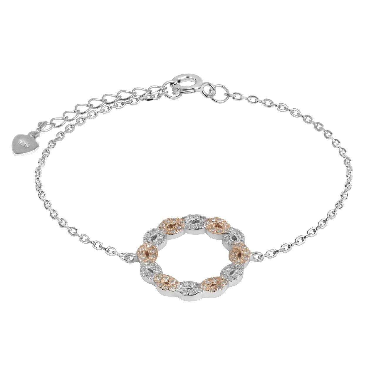 دستبند نقره زنانه اقلیمه کد DN439 -  - 2