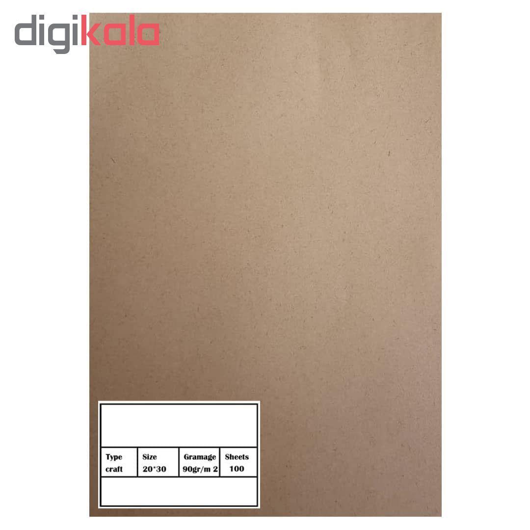کاغذ کرافت کد 04 بسته 100 عددی main 1 1