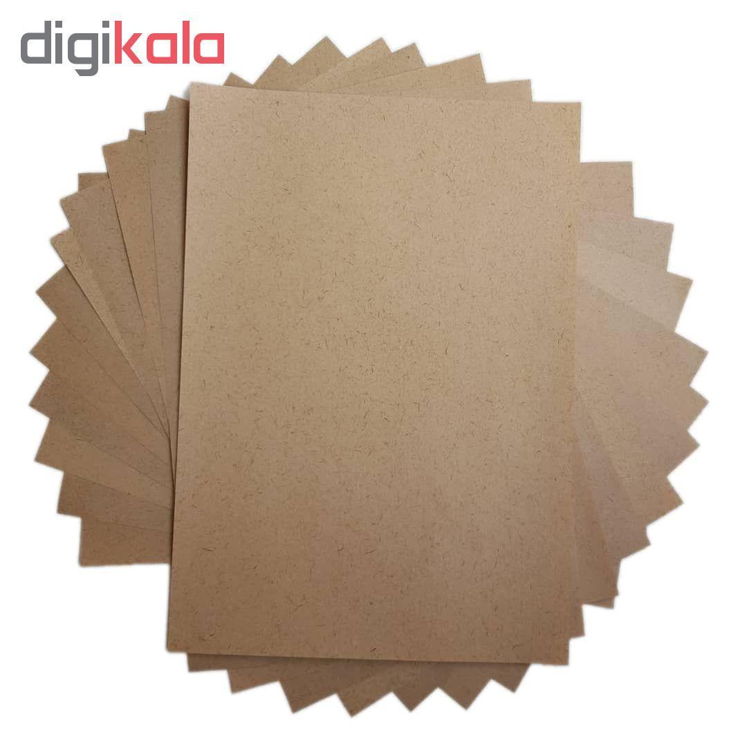 کاغذ کرافت کد 04 بسته 100 عددی main 1 2
