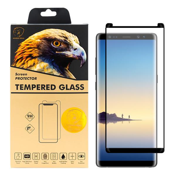 محافظ صفحه نمایش گلدن ایگل مدل DFC-X1 مناسب برای گوشی موبایل سامسونگ Galaxy Note 8