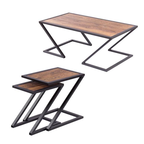 میز پذیرایی مدل رویال کد 036 مجموعه 3 عددی