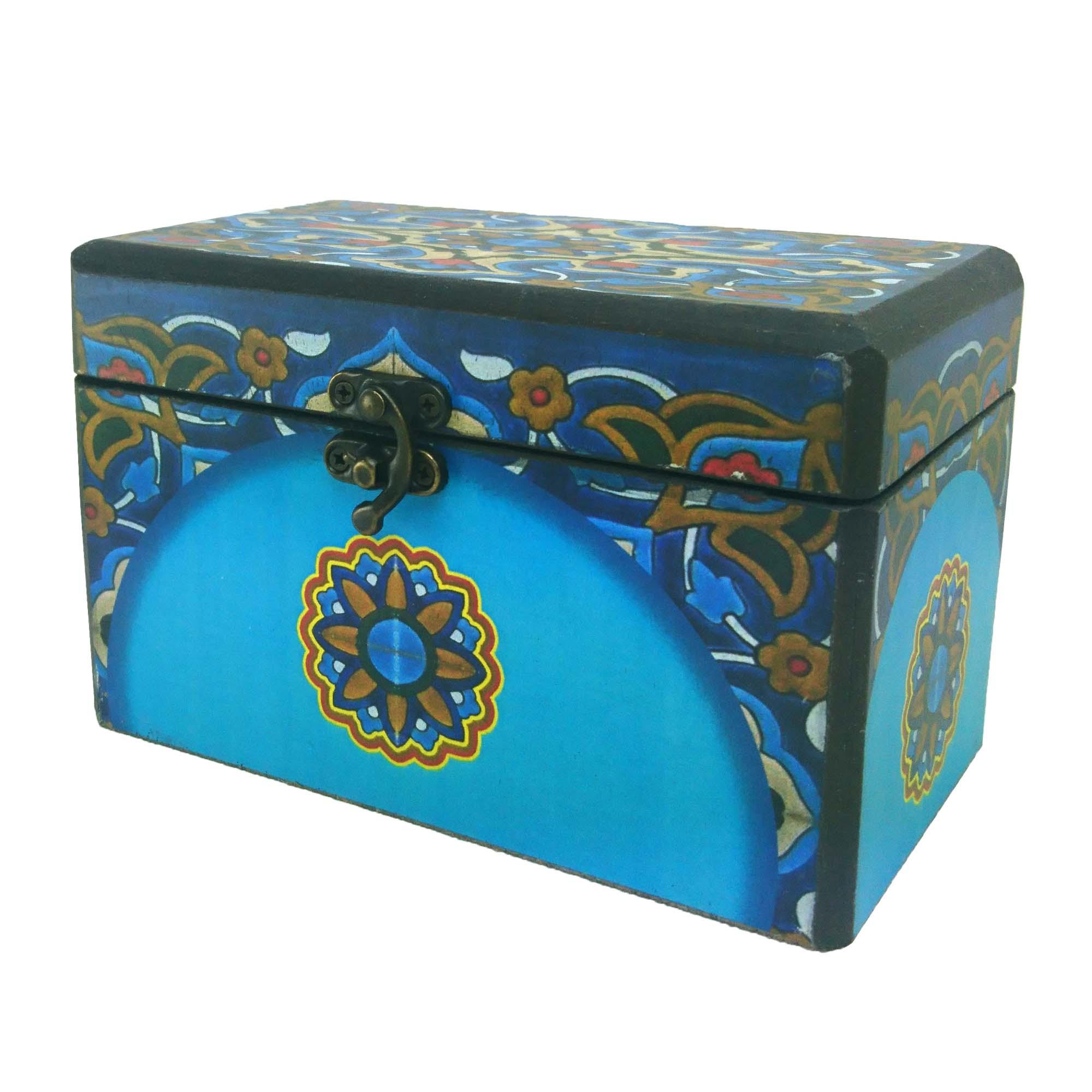 جعبه هدیه طرح صندوقچه سنتی کد 414