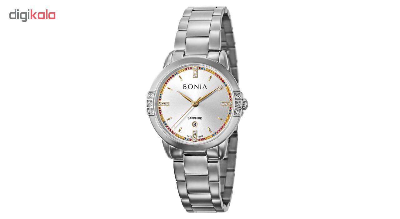 ساعت مچی عقربه ای زنانه بونیا کد BNB10328-2317S