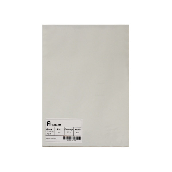 کاغذ A4 پیشگام مدل drawing2030 بسته 100 عددی