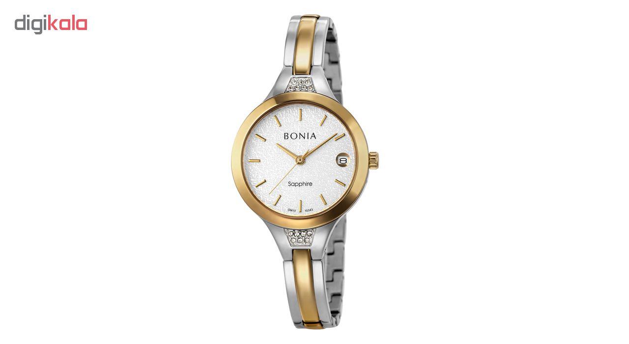 ساعت مچی عقربه ای زنانه بونیا مدل BNB10343-2112              ارزان