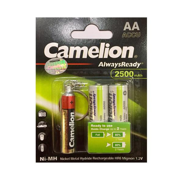 باتری قلمی قابل شارژ کملیون مدل Always Ready بسته 24عددی به همراه چراغ قوه