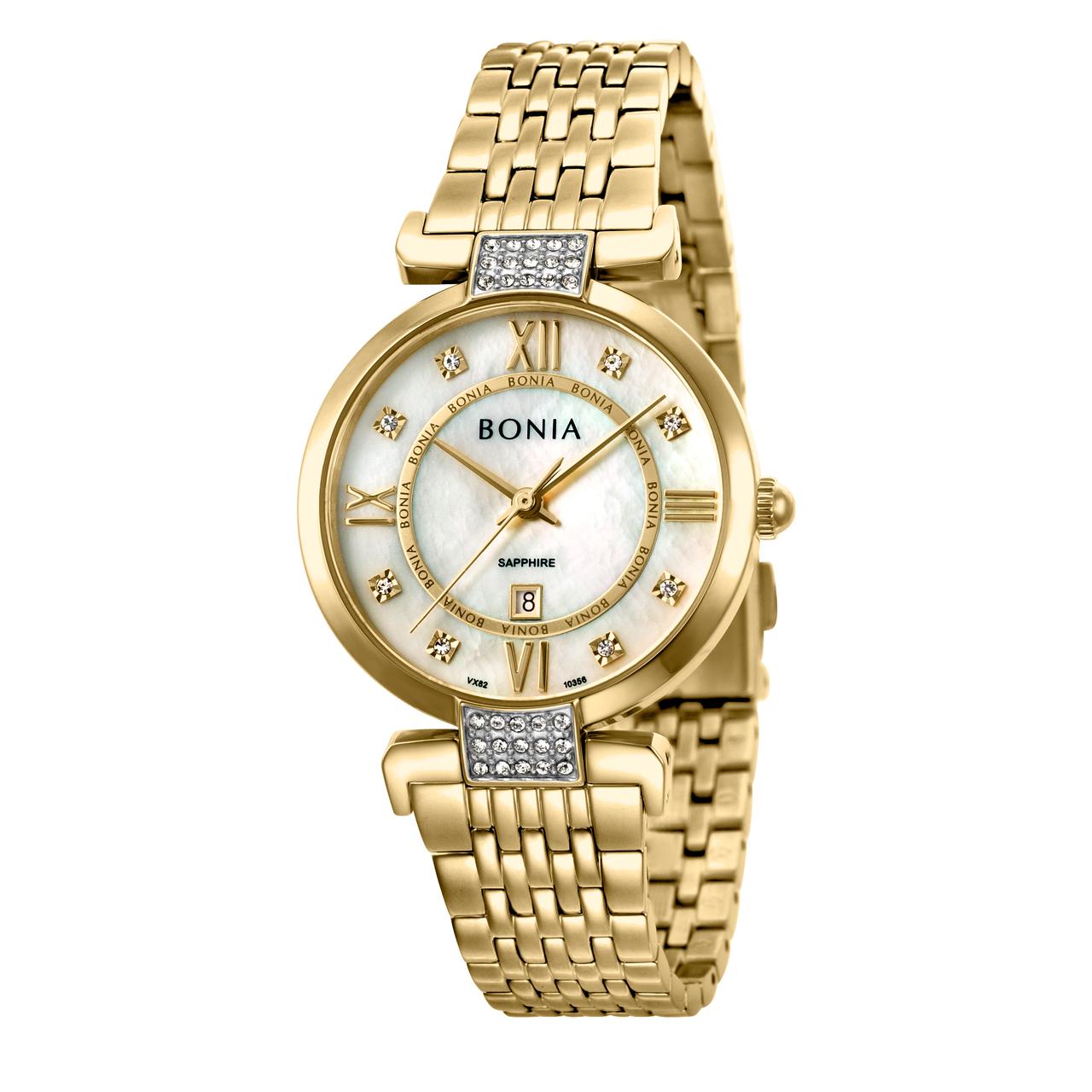 ساعت مچی عقربه ای زنانه بونیا کد BNB10356-2253