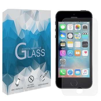محافظ صفحه نمايش مدل TGSP مناسب براي گوشي موبايل اپل iPhone 5 / 5s / SE
