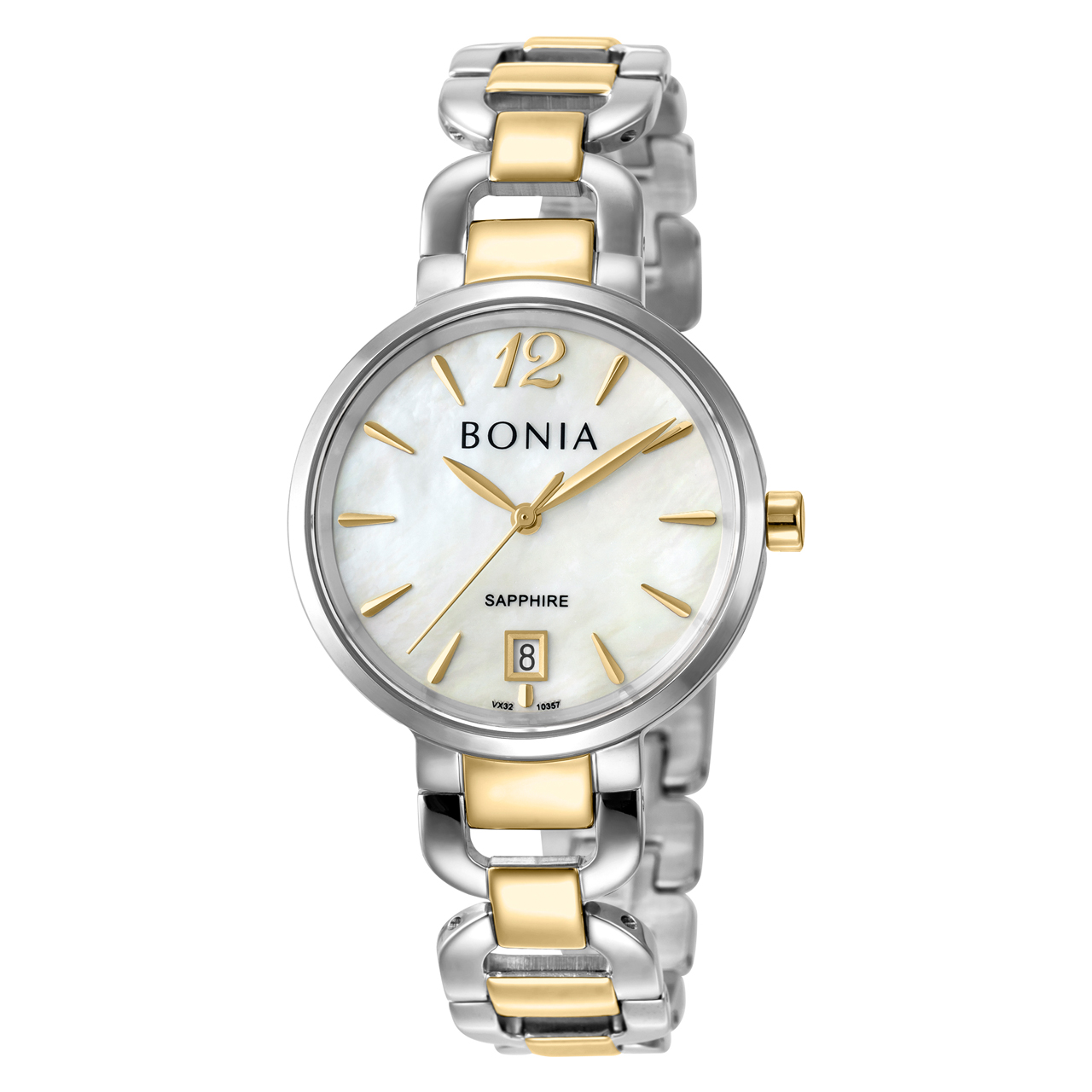 ساعت مچی عقربه ای زنانه بونیا کد BNB10357-2155