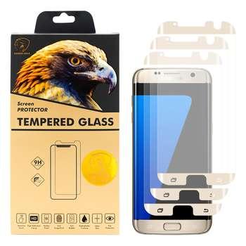 محافظ صفحه نمایش گلدن ایگل مدل HFC-X3 مناسب برای گوشی موبایل سامسونگ Galaxy S7 EDGE بسته سه عددی