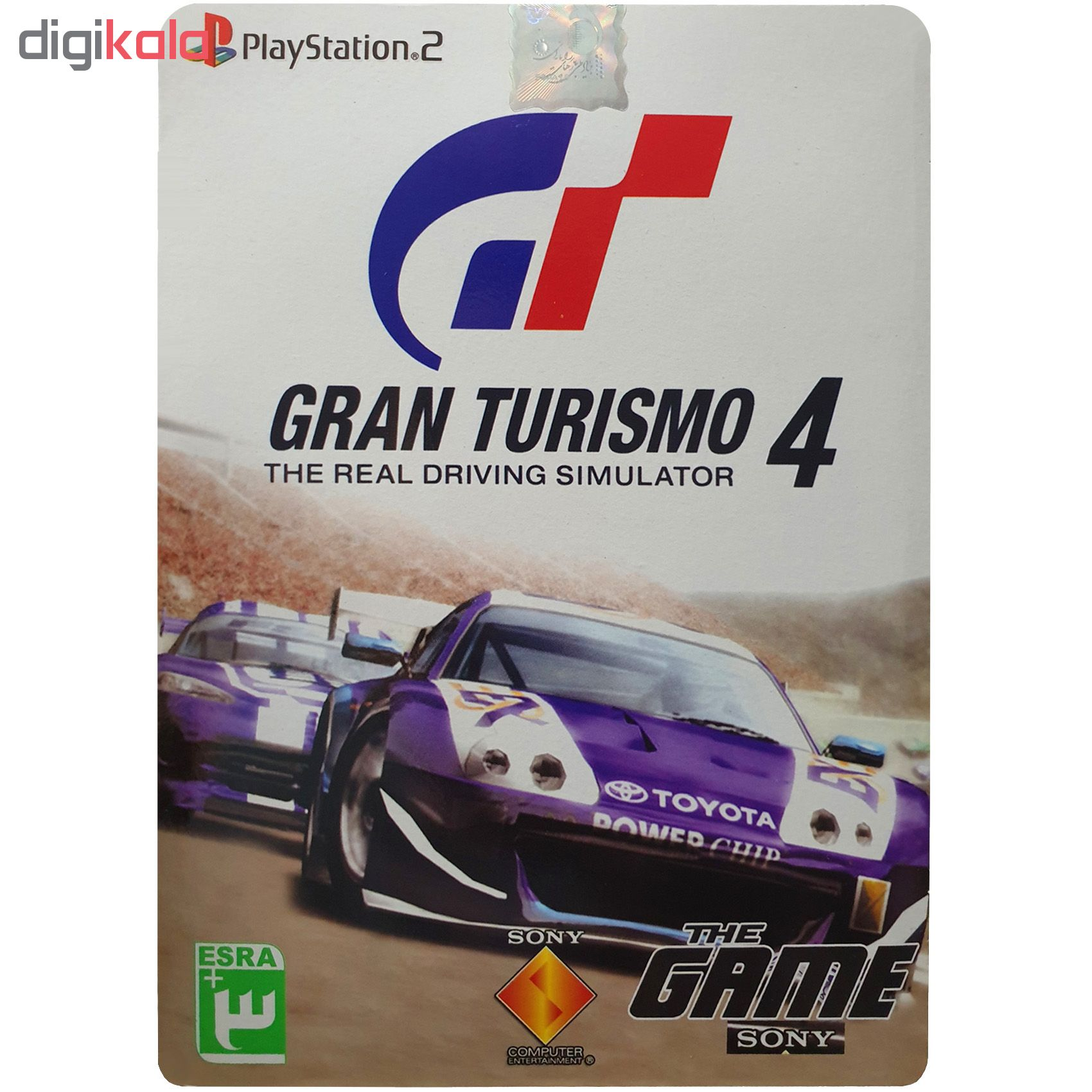 خرید اینترنتی بازی Gran Turismo 4 مخصوص PS2 اورجینال