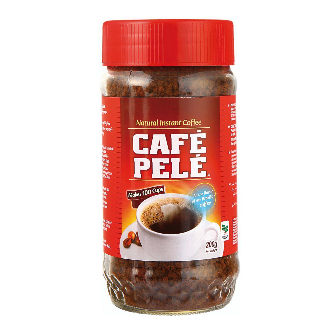 قهوه فوری کافه پله مدل lares مقدار ۲۰۰ گرم