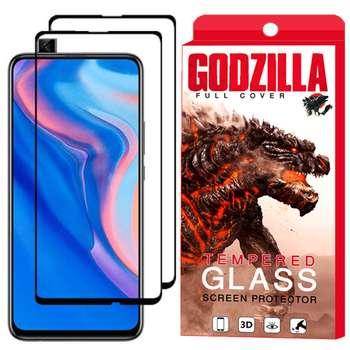 محافظ صفحه نمایش گودزیلا مدل GGF مناسب برای گوشی موبایل هوآوی Y9 Prime 2019 بسته 2 عددی