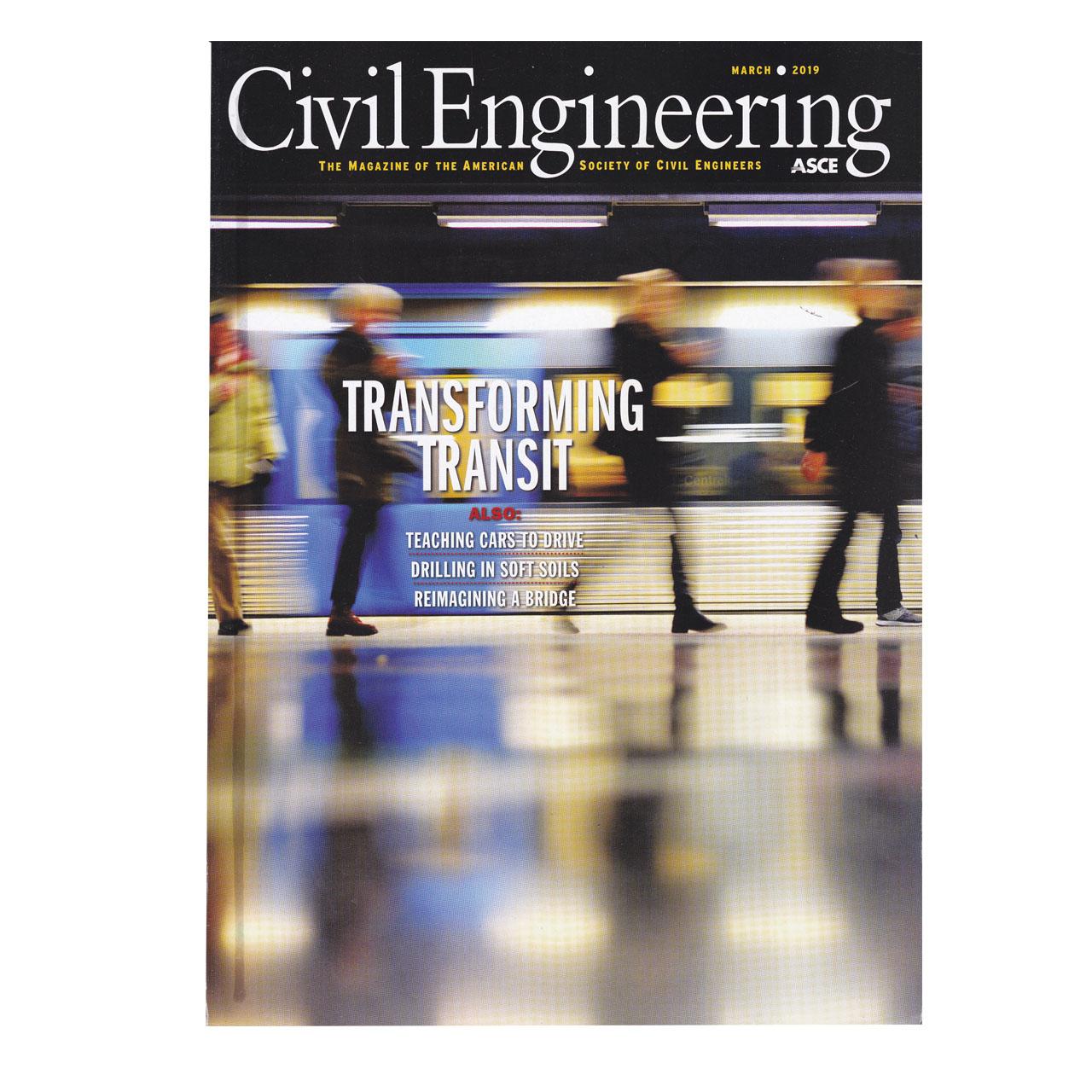 مجله Civil Engineering مارچ 2019