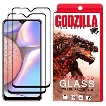 محافظ صفحه نمایش گودزیلا مدل GGF مناسب برای گوشی موبایل سامسونگ Galaxy A10s بسته 2 عددی